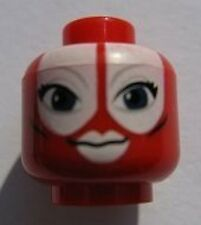 LEGO STAR WARS - Minifig, Head Alien Large Blue Eyes, White Lips (Shaak Ti)