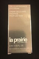 LA PRAIRIE  Switzerland CELLULAR RADIANCE Eye Cream - Deluxe 3 ml!