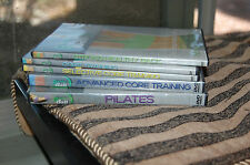 5 Bender Ball workout exercise fitness DVD lot BOOTCAMP PILATES CORE TRAINING ..