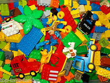 LEGO DUPLO* TOLLES ANGEBOT * 1 KG  BAUSTEINE FIGUREN BAUPLATTE AUTOS TIERE UVM.