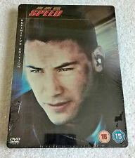 Speed (DVD, 2007, 2-Disc Set) - Steelbook - Definitive Edition - New & Sealed