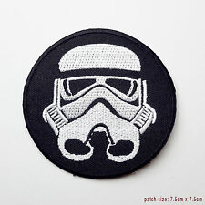 "IMPERIAL STORM TROOPER - Original STAR WARS Large 3"" Dia. Movie Patch - NEW"