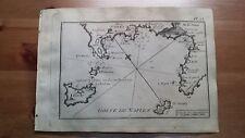 1817 Allezard: Portolano Golfo di Napoli Ischia Capri Procida Sorrento Pozzuoli