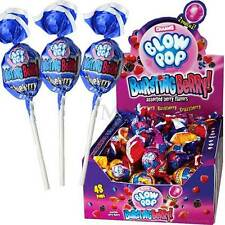 48 BURSTING BERRY CHARMS BLOW POPS Bulk Candy LOLLIPOPS FRESH New GUM CENTER