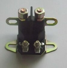 Universal solenoid  12 volt 4 terminal  for Ride on mowers ,pumps , generators +
