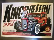 KINGS OF LEON SYDNEY 09 CONCERT POSTER ART KEN TAYLOR