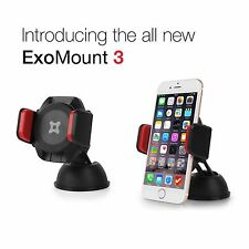 ExoGear ExoMount 3 Suction Cup Car Mount Holder for Samsung Galaxy S5 S6 S7 Edge