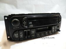 Jeep Grand Cherokee WJ 3.1 99-04 radio cd cassette head unit stereo P04858543AG
