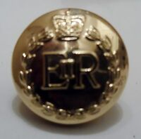 RMP Button, 22L, 30L, 40L, 14mm, 19mm, 25mm, Gold, Army, Military, Royal, Police
