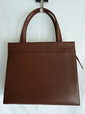 "SAC A MAINS CABAS CUIR MARRON ""CERRUTI 1881"" ARTE CERRUTI LEATHER HAND BAG"