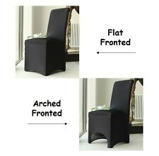 Lycra Spandex Chair Covers for Sale, Flat Arched, Party Wedding Decoration