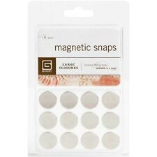 "Basic Grey Magnetic Snaps .625"" - 368826"