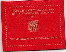 Coffret BU 2,00 Euros commémorative Vatican 2015