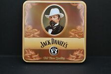 """original JACK DANIELS BELT BUCKLE in  tin """"old time quality whiskey"""" 2003"""