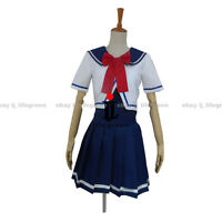 VOCALOID Hatsune Miku RIN Project DIVA 2 Sailor DRESS COS Cosplay Costume