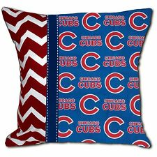 Chicago Cubs MLB Baseball Decorative Throw Pillow