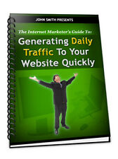 How To Get Daily TRAFFIC To Your Website Fast  - Attract More Sales (CD-ROM)
