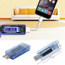 Portable USB Charger Mobile Power Detector Voltage Current Meter Tester Monitor