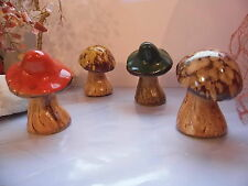 Mini Toadstools-Set de quatre mixmatching