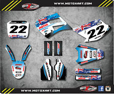 Full Custom Graphic Kit AUSSIE PRIDE TM 125 250 300 - 2000 - 2003 decals