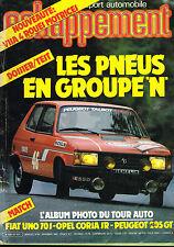 revue automobile: Echappement: N°181 novembre 1983