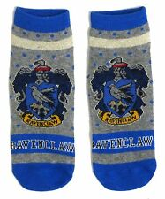 RAVENCLAW LADIES HARRY POTTER SCHOOL HOUSE SHOE LINERS SOCKS UK 4-8 USA 6-10