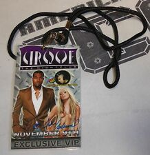 Sara Jean Underwood Signed Personal Used Playboy Event w Kanye West Pass PSA/DNA