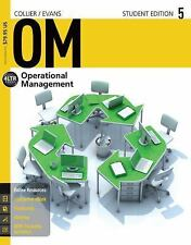 Om Operations Management by David Collier Student Edition 5 College Bookstore