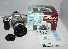 Minolta Dynax 404Si - 35mm SLR Camera with 35-80mm Lens - Box/Manual - vgc