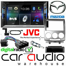 Mazda 5 JVC KW-V235DBT DAB Radio Bluetooth CD MP3 Car Stereo Double Fitting Kit