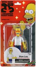 """NECA Simpsons 25th Anniversary STAN LEE 5"""" Figure Series 5 Greatest Guest"""