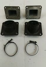 1976-78 Yamaha rd350 rd 350 rd450 left & right side reed valve & intake boots
