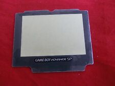 Displayglas Displayscheibe Scheibe für Nintendo GameBoy Advance SP -  - NEU -