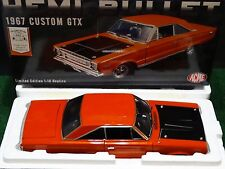 ACME GMP 1967 Plymouth GTX Hemi Bullet 1:18 Scale Diecast Model '67 Muscle Car