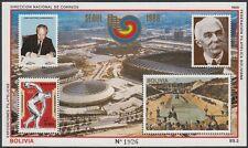 BOLIVIEN, 1988 Olympische Sommerspiele Block 175 **, (18735)
