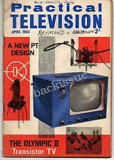 Practical Television Magazine April 1965 For FULL Contents see Listing Images