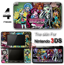 Monster High SKIN VINYL STICKER DECAL COVER #1 for Nintendo 3DS