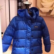 DKNY JEANS WINTER PUFFER DUCK DOWN WOMENS JACKET WITH HOOD-P