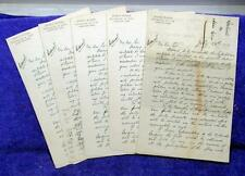 1890 IRVING P. WANGER US Representative Pennsylvania Campaign Letters