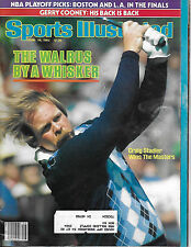 SPORTS ILLUSTRATED - WALRUS CRAIG STADLER FROM APRIL 19, 1982