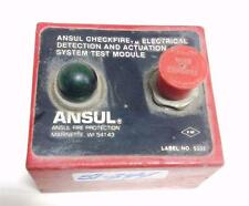 ANSUL FIRE PROTECTION CHECKFIRE ELECTRICAL DETECTION SYSTEM TEST MODULE
