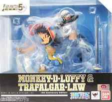 One Piece Monkey D. Luffy Rubber & Trafalgar Law 5th Anniv. Figuarts Zero Bandai