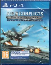 AIR CONFLICTS: PACIFIC CARRIERS GAME PS4 ~ NEW / SEALED