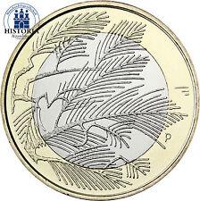 Finnland 5 Euro Münze 2014 bfr. Natur des Nordens: Die Wildnis
