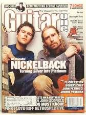 GUITAR ONE March 2002 NICKELBACK CHAD KROEGER RYAN PEAKE GEORGE HARRISON 7