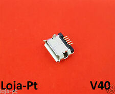 V40 - Micro USB Charging Port DC Power Socket 5 Pin for Fix Phones and Tablets