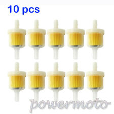 10PCS Magnet Petrol Gas Fuel Filter For Pit Dirt Bike Quad ATV Honda Motorcycle