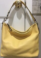 Coach Yellow Leather Purse