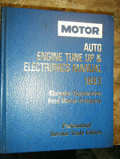 1990-93 MOTOR AUTO TUNE UP ELECTRONICS SERVICE MANUAL FORD DODGE CHRYSLER EAGLE