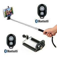 Extendable Handheld Selfie Stick Monopod Bluetooth Shutter Remote Mobile holder